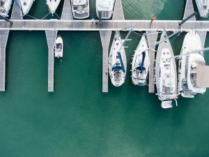 self docking yacht